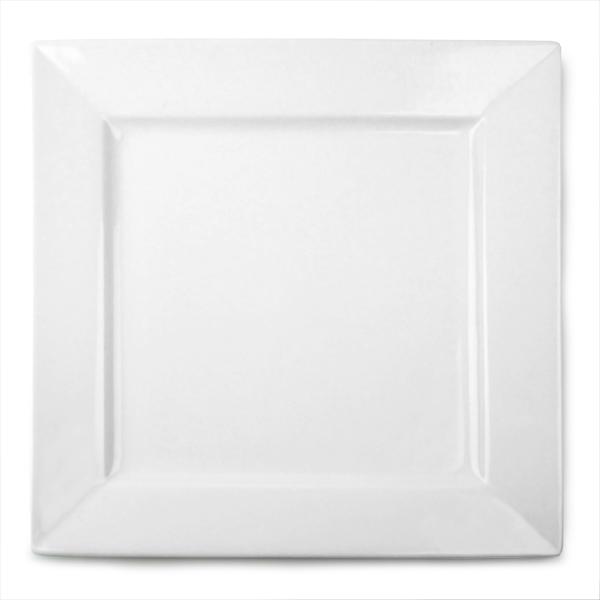 Royal Genware Square Plates 30cm  sc 1 st  Drinkstuff & Royal Genware Square Plates 30cm | 12inch Dinner Plates Porcelain ...