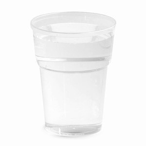 Katerglass Plastic Half Pint Tumblers 12oz LCE at 10oz