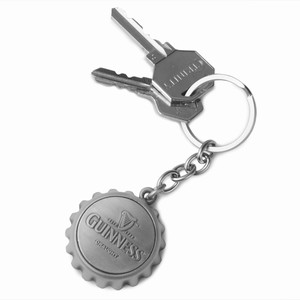 Guinness Cap Opener Keyring