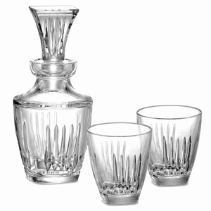 Clarion Decanter & Double Old Fashioned Tumblers