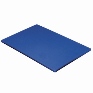 Colour Coded Chopping Board 1/2inch Blue - Raw Fish