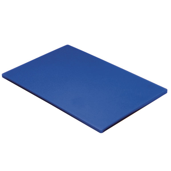 Colour coded chopping board 1 2inch blue raw fish for Fish cutting board