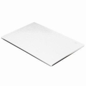 Colour Coded Chopping Board 1/2inch White - Bakery & Dairy