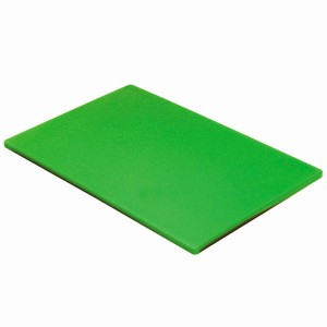 Colour Coded Chopping Board 1/2inch Green - Salad & Fruit