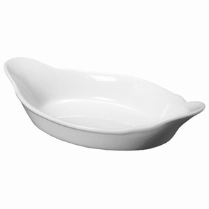 Royal Genware Oval Eared Dish 16.5cm
