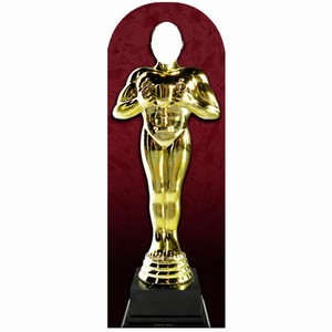 Award Statue Stand-In Cardboard Cut Out