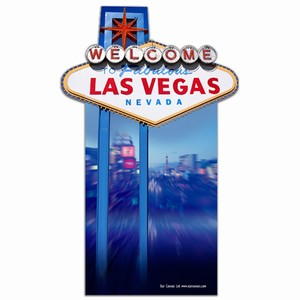 Las Vegas Sign Cardboard Cut Out