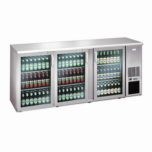 Gamko Eco-Line 222GMUCS Bottle Cooler Stainless Steel