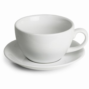 Royal Genware Bowl Cups & Saucers 12oz / 340ml