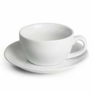 Royal Genware Bowl Cups & Saucers 8.8oz / 250ml