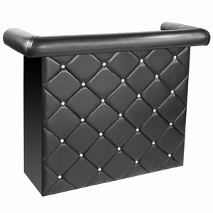 Crystal Diamanté Miami Home Bar Black