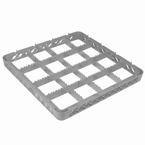 Extender for 16 Compartment Glass Rack