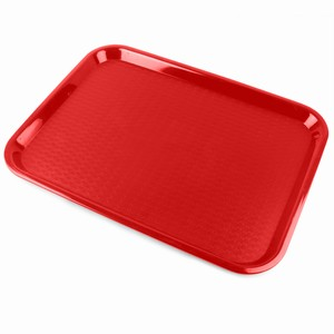 Fast Food Tray Small Red