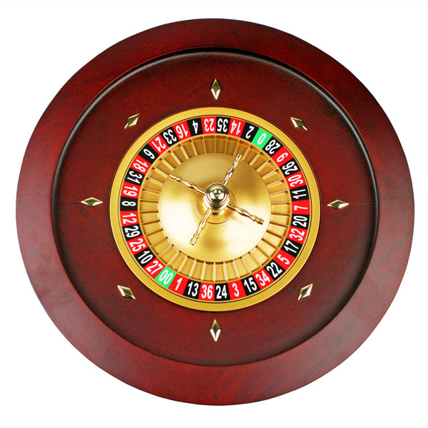 Roulette Wheel Double Zero 450mm Drinkstuff