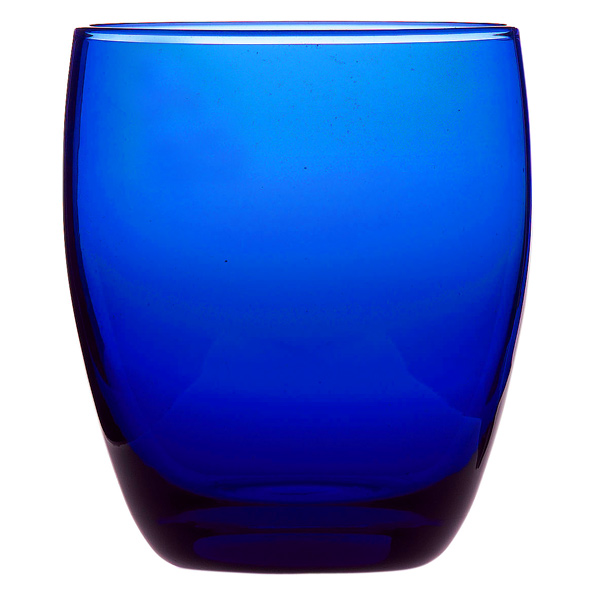 Cobalt Blue Old Fashioned Tumblers 12 25oz 350ml