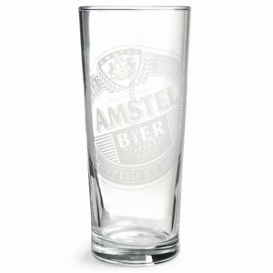 Amstel Pint Glasses CE 20oz / 568ml