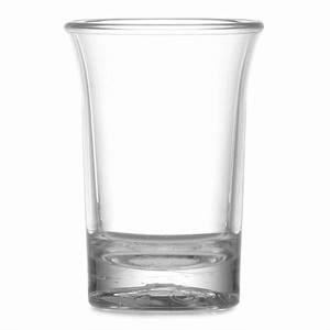 Elite Premium Polycarbonate Shot Glasses CE 0.9oz / 25ml