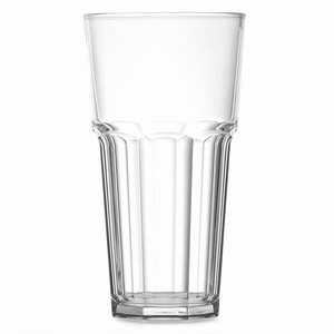 Elite Remedy Polycarbonate Pint Nucleated Tumblers CE 20oz / 568ml