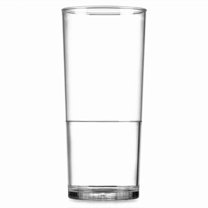Elite In2stax Polycarbonate Half Pint Tumblers CE 10oz / 285ml