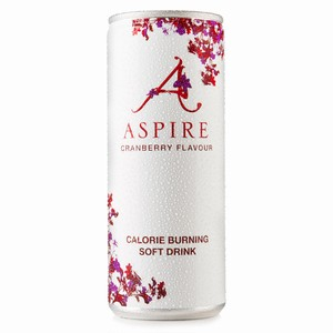 Aspire Cranberry Calorie Burning Soft Drink