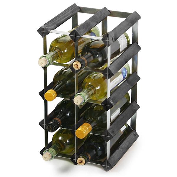 traditional wooden wine racks black ash wine racks uk metal wine racks buy at drinkstuff. Black Bedroom Furniture Sets. Home Design Ideas