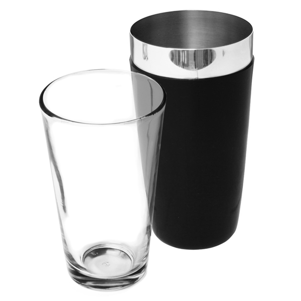 a07caa6f38a1 Vinyl Boston Cocktail Shaker Black | Professional Boston Shaker ...