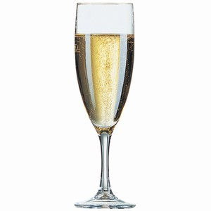 Elegance Champagne Flutes 6oz LCE at 125ml