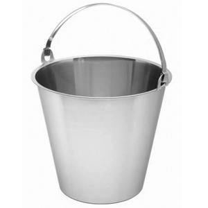 Swedish Stainless Steel Bucket 10ltr