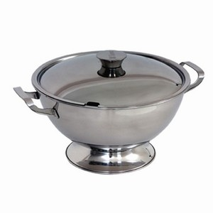 Stainless Steel Soup Tureen & Lid 158oz / 4.5ltr