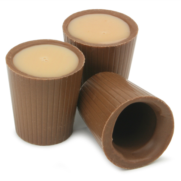 kernow chocolate cups 0 5oz 15ml edible glasses