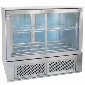 Osborne 2750 Pass Through Bottle Cooler Stainless Steel