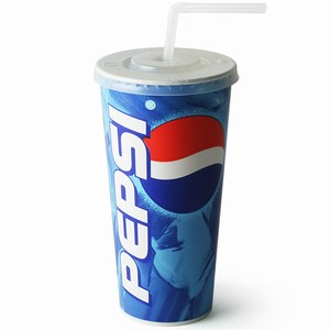Pepsi Paper Cups Set 22oz / 630ml