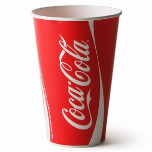Coca Cola Paper Cups 12oz / 340ml