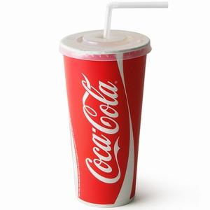 Coca Cola Paper Cups Set 22oz / 630ml