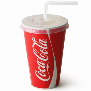 Coca Cola Paper Cups Set 12oz / 340ml