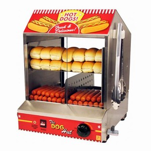 The Dog Hut Hotdog Steamer