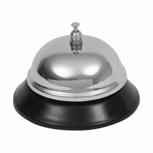 Genware Chrome Plated Service Bell