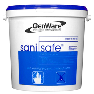 Genware Sani Safe Wet Wipes
