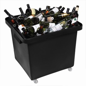 Recycled Bottle Skip 185ltr Black