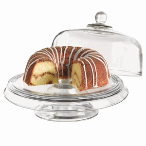 Presense 4-in-1 Cake Stand & Dome