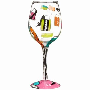 Lolita Shopaholic Too Wine Glass 15.5oz / 440ml