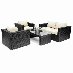 ES 4 Piece Patio Sofa Set