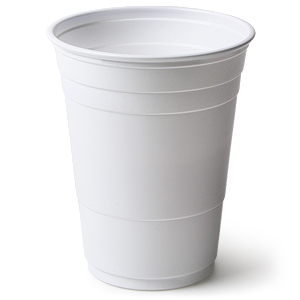 Solo White American Party Cups 16oz / 455ml