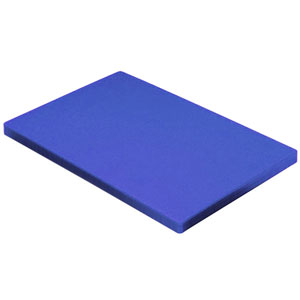 Colour Coded Chopping Board 1inch Blue - Raw Fish