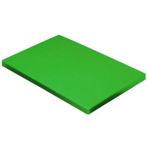Colour Coded Chopping Board 1inch Green - Salad & Fruit