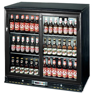 Infrico ZX2-SL Sliding Door Undercounter Bottle Cooler