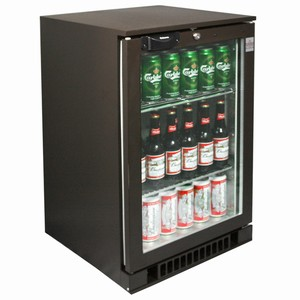 Osborne eCold 30ES Glass Door Undercounter Bottle Cooler Brown