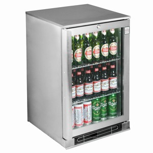 Osborne eCold 30ES Glass Door Undercounter Bottle Cooler Stainless Steel