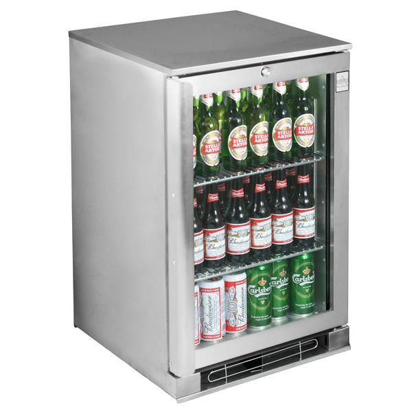 Osborne Ecold 30es Glass Door Undercounter Bottle Cooler Stainless Steel