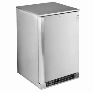 Osborne eCold 30ES Solid Door Undercounter Bottle Cooler Stainless Steel